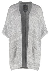 Superdry Pebble Cardigan Grey Marl Light Grey