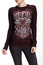 Affliction Constanza Reversible Long Sleeve Thermal Multi