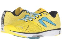 Newton Running Distance V Yellow Blue Women's Shoes Multi