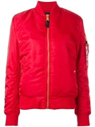 Alpha Industries Padded Jacket Red