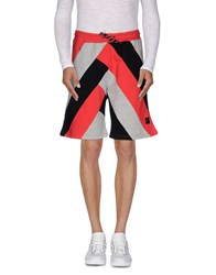 Iuter Trousers Bermuda Shorts Men Red