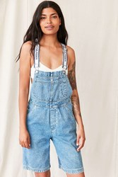 Urban Renewal Vintage Tommy Hilfiger White Strip Shortall Overall Assorted