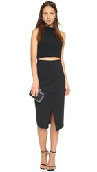 Black Halo Juma Two Piece Dress Black