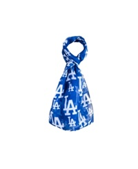 Forever Collectibles Los Angeles Dodgers All Over Logo Infinity Scarf Blue