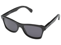 Shwood Canby Dark Walnut Grey Sport Sunglasses Black