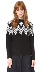 N 21 Overknit Sweater Black