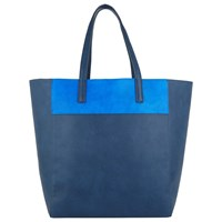 John Lewis Tony Colour Tote Bag Navy