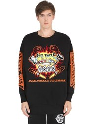 Ktz Pinball Patched Cotton Sweatshirt