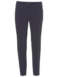 Betty Barclay Straight Fit Trousers Navy Blue