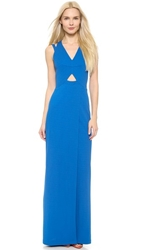 Yigal Azrouel Strappy Matte Jersey Gown Belize