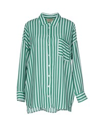 Kaos Jeans Shirts Shirts Women Green