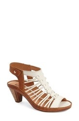 Women's Pikolinos 'Java' Sandal Nata Brandy Leather
