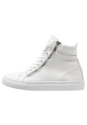 Boom Bap Celebration Hightop Trainers Triple White
