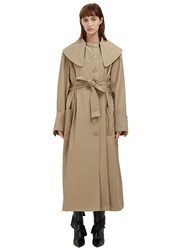 J.W.Anderson Oversized Trench Coat Beige