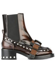 N 21 No21 Buckled Boots Brown