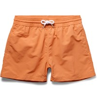 Frescobol Carioca Short Length Swim Shorts Orange