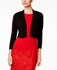 Calvin Klein Lace Back Shrug Black