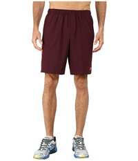 New Balance Tournament 9 Short Burgundy Flame Men's Shorts Brown