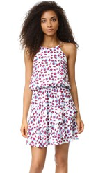 Cooper And Ella Carla Cherry Ruffle Dress Cherry Print