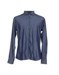 Etichetta 35 Denim Denim Shirts Men Blue