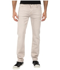 7 For All Mankind Luxe Performance Slimmy Slim Straight In Twill Colors Light Khaki Men's Casual Pants