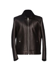 Balenciaga Coats And Jackets Jackets Men Dark Brown
