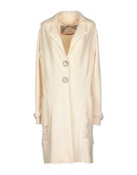 Gattinoni Coats Ivory