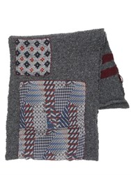 Bob Strollers Wool Blend Scarf W Patches