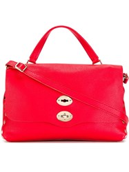 Zanellato 'Medium Postina' Tote Red