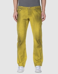 Gaetano Navarra Denim Pants Light Green