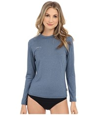 O'neill 24 7 Hybrid Long Sleeve Tee Deep Teal Women's Swimwear Green