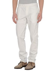Sand Casual Pants White
