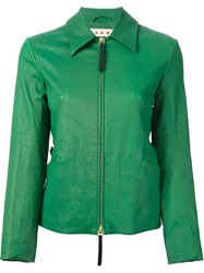 Marni Fitted Jacket Green