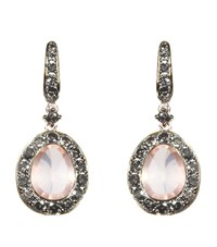 Annoushka Dusty Diamonds Rose Quartz Earrings Female