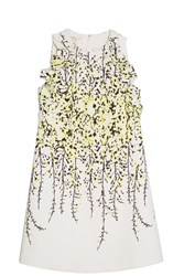 Giambattista Valli Wisteria Dress Yellow