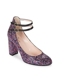 Kate Spade Baneera Glitter Pumps Purple