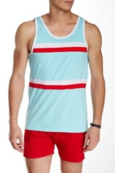 Parke And Ronen Olympian Tank Blue