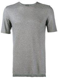 Lot 78 Lot78 Round Neck T Shirt Grey