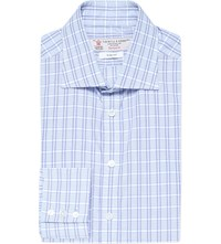Turnbull And Asser Slim Fit Multi Stripe Cotton Shirt Blue 2