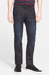 Levis Made Crafted 'Death Or Glory' Waxed Skinny Fit Jeans Dark Blue