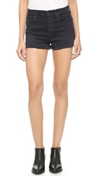 Citizens Of Humanity Chloe High Waisted Cutoff Shorts Goth