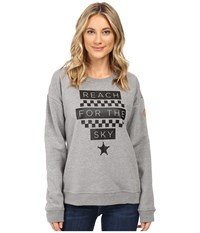 Vans Reach For The Sky Grey Heather Women's Fleece Gray