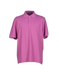 Blauer Topwear Polo Shirts Men Mauve