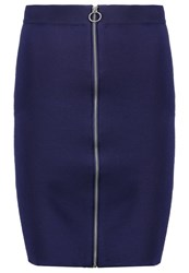 Selected Femme Sfsonia Pencil Skirt Patriot Blue Dark Blue