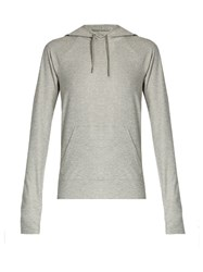 Outdoor Voices X A.P.C Hooded Performance Sweatshirt Light Grey