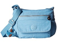 Kipling Syro Crossbody Bag Blue Grey Cross Body Handbags