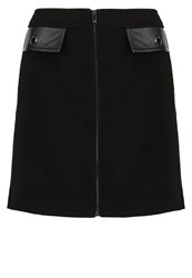 Morgan Jblock Aline Skirt Noir Black
