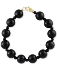 Effy Eclipse By Onyx 12 And 4Mm Bead Bracelet Black