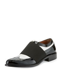 Givenchy Show Richelieu Icon Oxford Black White Black White