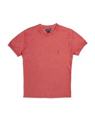 Polo Ralph Lauren Thermal Short Sleeved Top Red